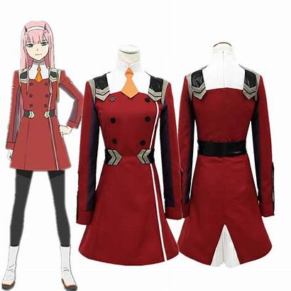 Zero Darling Franxx Cosplay Outfit Costume Code