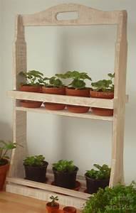 Bois Pour Etagere : etageres pour plantes ~ Teatrodelosmanantiales.com Idées de Décoration