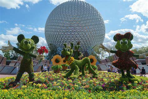 epcot flower and garden festival photos take a tour of the 2018 epcot international
