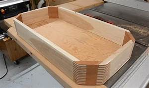 Octagonal box with 45° box joints