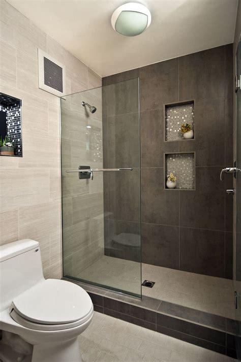 modern bathroom design ideas  walk  shower small