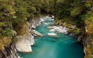 River, Blue, Water, Nature, Wallpaper, Hd, Wallpapers13, Com