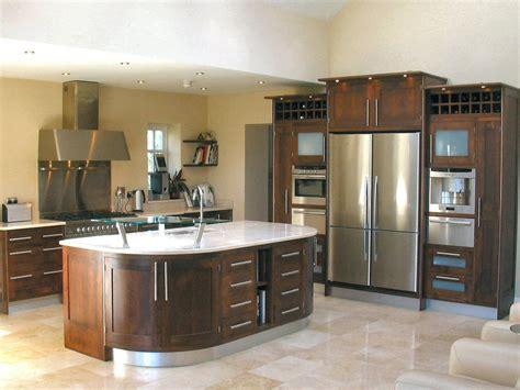 walnut kitchen ideas unique design kitchens modern framed walnut kitchen decosee