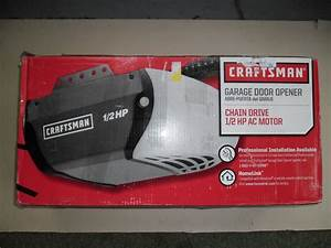 Garage Door Opener 1  2 Hp 315 M Hz Craftsman 953930 53930