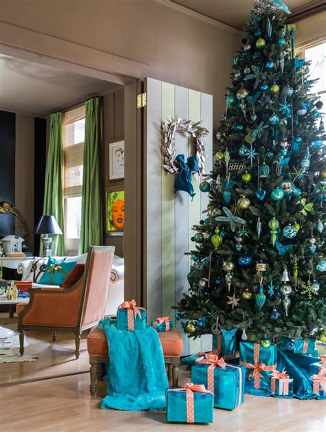christmas decoration visual with the visual v house of turquoise
