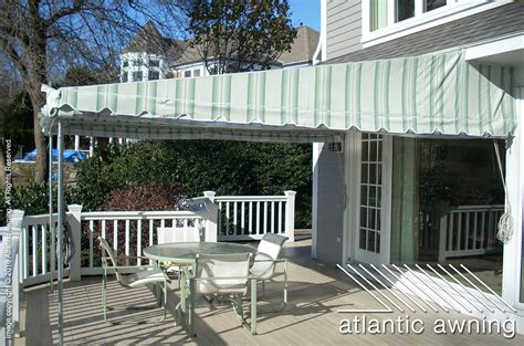 stationary free standing patio deck awnings atlantic