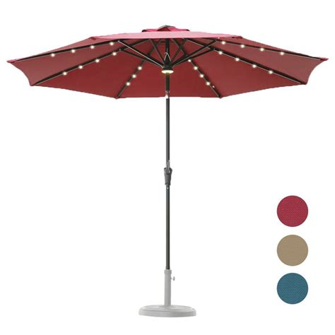 umbrella with solar lights 3 best cantilever umbrella with solar lights