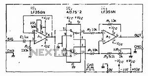 demodulator circuit other circuits nextgr With differential analog switch circuit diagram