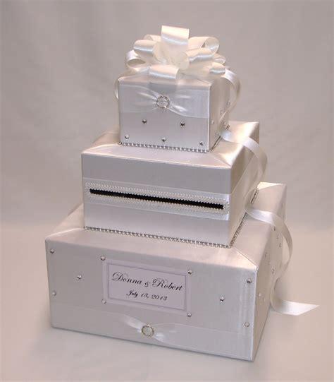 wedding card box custom made wedding card box rhinestone accents