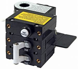 Blue Sea Systems 3106100 30 Amps Double Pole Residual