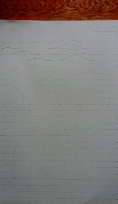 Paper Notebook Drawings 3d Into Warps Teenage