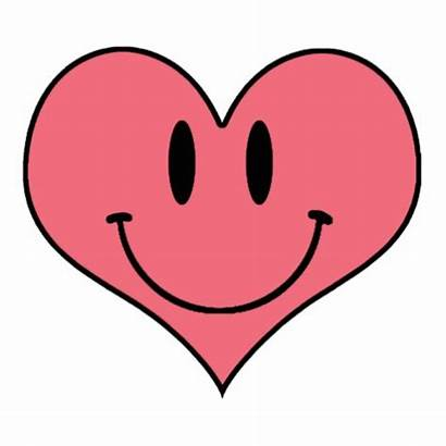 Heart Clipart Smiling Sweetheart Clip Smile Cliparts