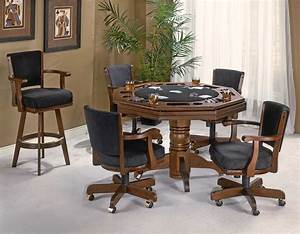 Flip Top Card Table With Chairs