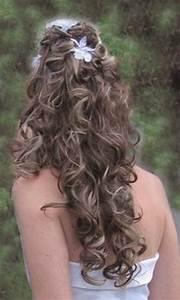 Coiffure Pour Cheveux Mi Longs : coiffure mariage cheveux longs boucles ~ Melissatoandfro.com Idées de Décoration