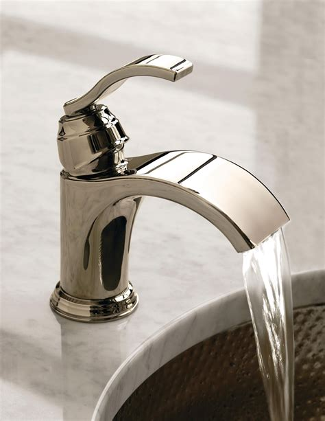 Bathroom And Kitchen Fixtures by Watersense Certified Waterfall Faucet From Danze Remodel