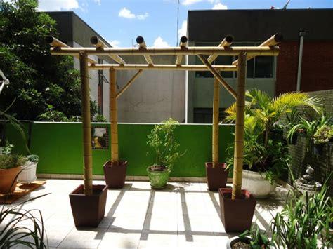 Gartendeko Holz Groß by Bambus Deko Ein Exotisches Flair F 252 R Den Garten