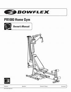 Bowflex Pr1000 Home Gym Exercises  U0026 Manual
