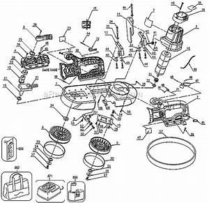 Dewalt Dcs370k Parts List And Diagram