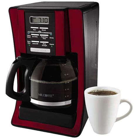 Wake up to a freshly brewed pot of coffee in the morning, or set up ahead of time when entertaining to serve with ease. Mr. Coffee 12-Cup Programmable Coffee Maker Reviews 2019