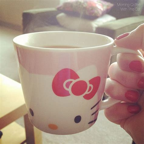 He looked all too excited choosing the hello kitty mug. Hello Kitty coffee mug (With images) | Hello kitty items, Hello kitty, Kitty
