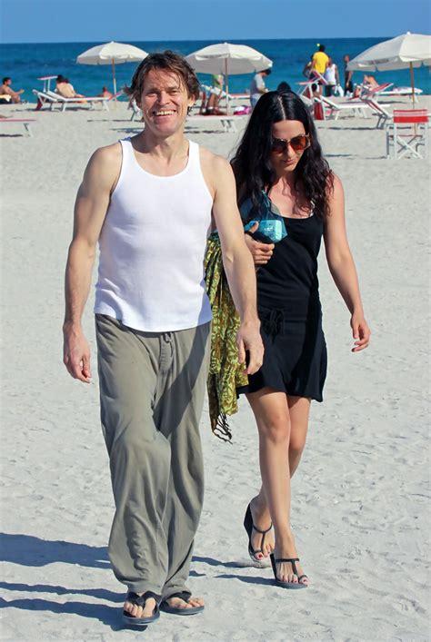 willem dafoe bikini giada colagrande in willem dafoe and wife giada colagrande