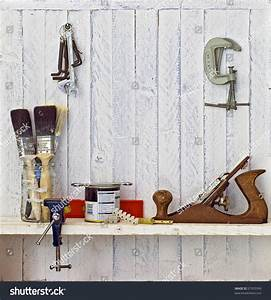Do Yourself Diy Tools On Workshop Stock Photo 57355399