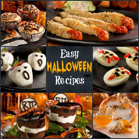 simple treats recipes 12 easy halloween recipes diabetic halloween treats the whole family will love