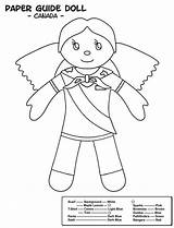 Colouring Pages Sheets Brownie Sheet Coloring Guides Brownies Canadian Sparks Scout Promise Canada Activities Spark Crafts Craft Boys Thinking Cookie sketch template