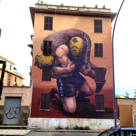 Jaz New Mural For Avanguardie Urbane Rome Italy