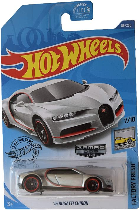 Which modern electric car will be the first classic? 2020 Hot Wheels 16 Bugatti Chiron #89/250 Factory Fresh Black Cars, Trucks & Vans Diecast & Toy ...