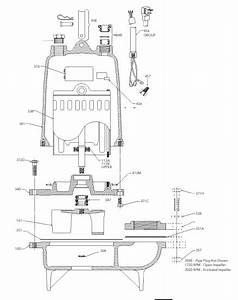 Goulds Ws1038b  Model 3886  Ws B Series  Sewage Pump  1 Hp