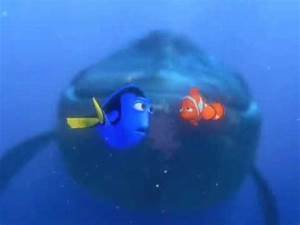 Finding Nemo 'Dory Speaking Whale' - YouTube