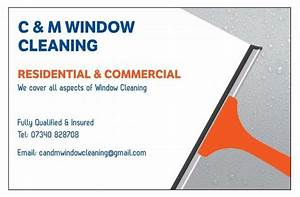 Cleaning Company Business Cards C And M Window Cleaning Carterton Carterton 7 Reviews
