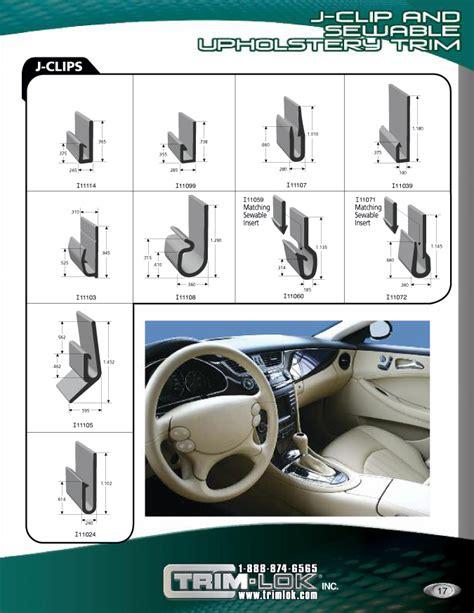 plastic  rubber trims  seals catalog trim lok