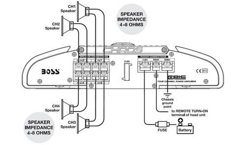 Crunch Sub Wiring Diagram by Audio Mr404 Chaos Epic 400 Watts