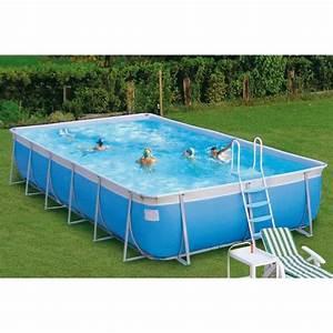 Achat Piscine Hors Sol : piscine hors sol tubulaire laguna rectangulaire achat ~ Dailycaller-alerts.com Idées de Décoration