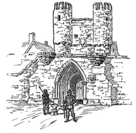 barbican buildings castle castle parts barbican png html