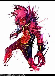 Red beast boy by Mr5star on DeviantArt