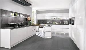 Hochglanz Weiß Küche : design einbauk che norina 9555 alpinweiss hochglanz lack ~ Michelbontemps.com Haus und Dekorationen