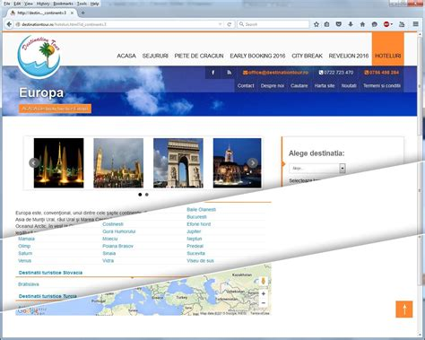 Creation Website by Travel Agency Website Creation For Destination Tour