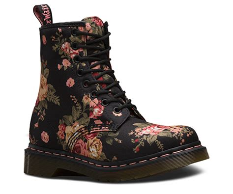 womens  victorian flowers official dr martens store