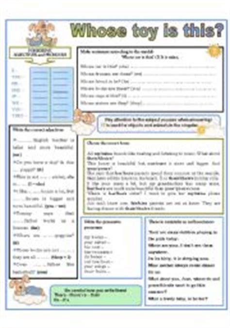 english worksheets  toy