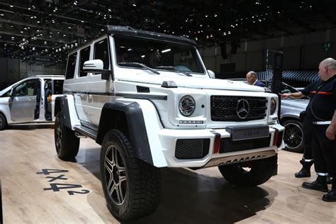 Mercedes-benz G500 4x4 Squared Enters Production, Costs