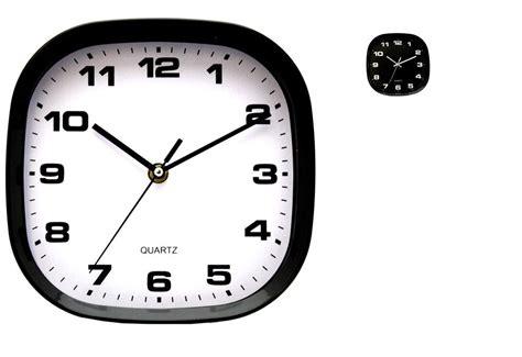 afficher horloge sur bureau 8 quot 10 quot 12 quot quartz modern retro design black white wall