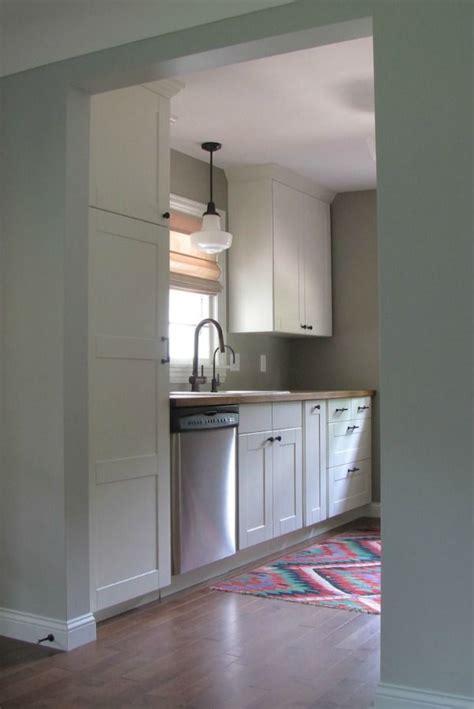 galley kitchen reno  ikea cabinets cost