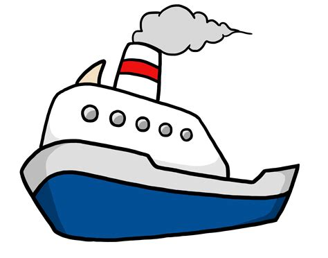 Free Pictures Of Cartoon Boats, Download Free Clip Art