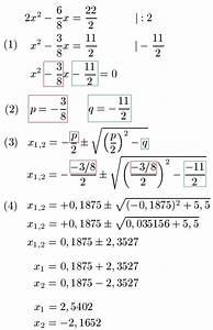 Mischungsverhältnis 1 Zu 5 Berechnen : pq formel erkl rung und beispiele ~ Themetempest.com Abrechnung