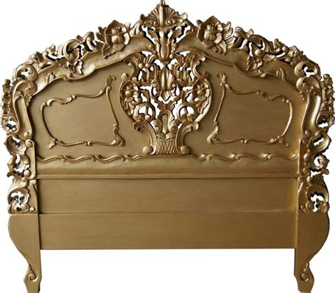 Antique Style Headboards by Rococo Antique Gold Headboard Crown Furniture