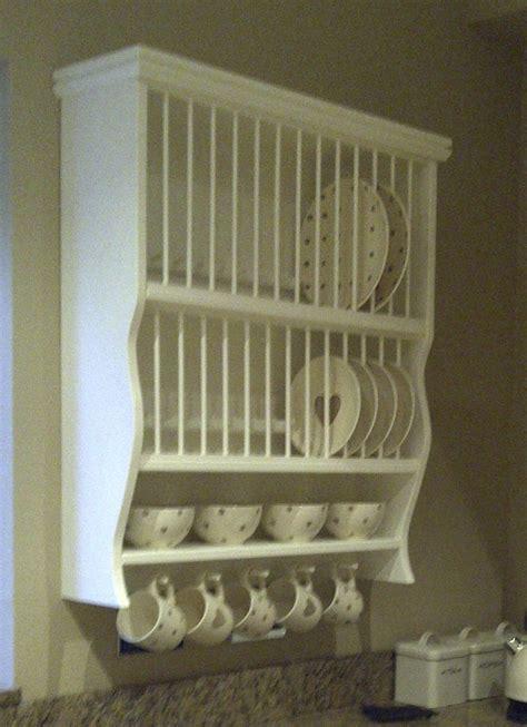 warwickshire plate rack pine painted oak plate rack