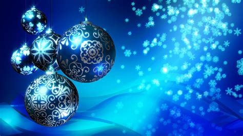 christmas background blue stock video footage synthetick